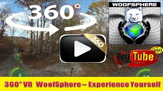 360 Videos | VR | Virtual Reality | WooFSphere | FurWheeling in 360 Columbia Trail, NJ