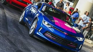 Camaro burnout Madness |  New Orleans takeover burnout compilation