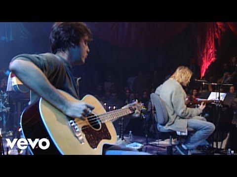 Nirvana - On A Plain (Live On MTV Unplugged, 1993 / Unedited)