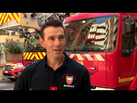 Sport: Ironman and the Monaco firefighter