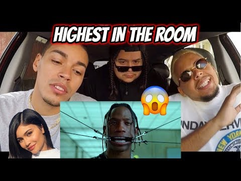 Travis Scott - HIGHEST IN THE ROOM (REACTION REVIEW) He Left Kylie??
