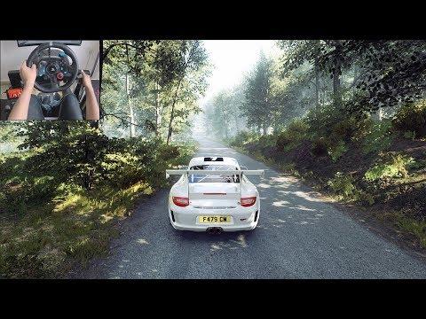 Porsche 911 - Dirt Rally 2.0 | Logitech g29 gameplay