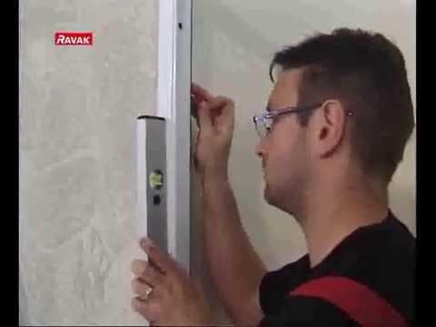 Душевая дверь Ravak ASDP3 (00VA010211) (100 см) полистирол Pearl, профиль белый 9