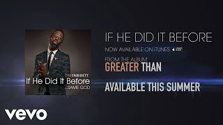 If He Did It Before...Same God