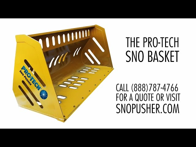 Sno Basket: Easily Load and Relocate Snow