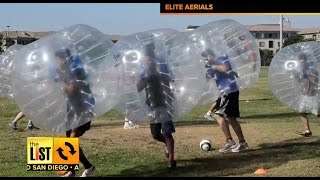 SAN DIEGO: Having A Ball With Bubble Soccer