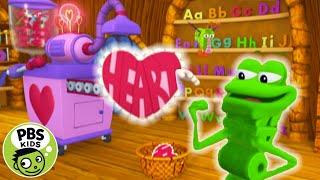 Word World | 💝Frog's Valentine Making Machine! | PBS KIDS