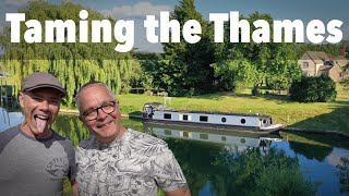 Taming the Thames. Narrowboat Journey on England's most FAMOUS River!