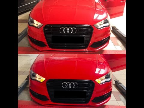How to activate US style turn signal lights with VCDS (Audi A3 8V 2.0 TDI)