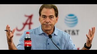 Nick Saban gets fired up about media coverage of rivalry games
