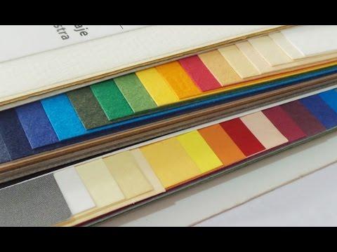 Tipos de papel para cajas y manualidades