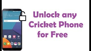 Cricket Phone Unlock - Unlock Cricket Phone For Free | Cricket Sim Unlock Code