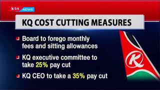 KQ managers take pay cut to manage costs