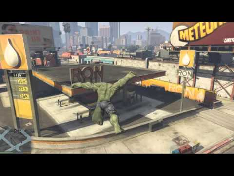 Chaos as The Incredible Hulk joins GTA 5 in SMASHING update