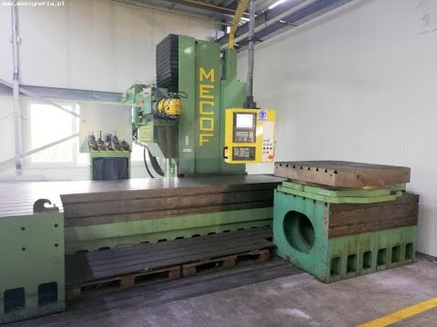 CNC Milling Machine MECOF CNC CS 88/G 2015