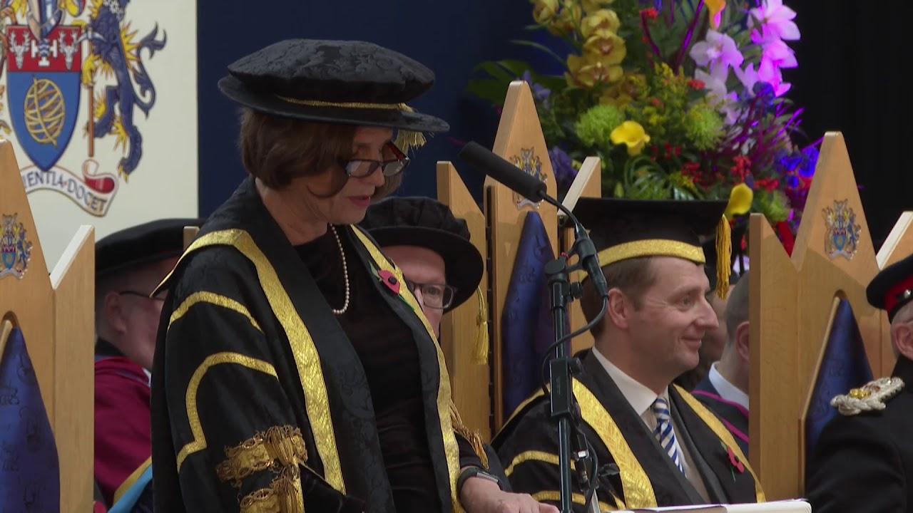 The University of Derby's Buxton Awards Ceremony, 9 November 2019