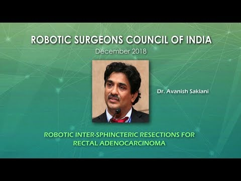 Robotic intersphincteric resection for rectal adenocarcinoma