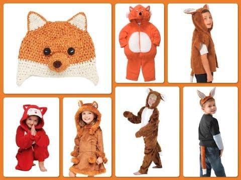 Disfraz de zorro para niños