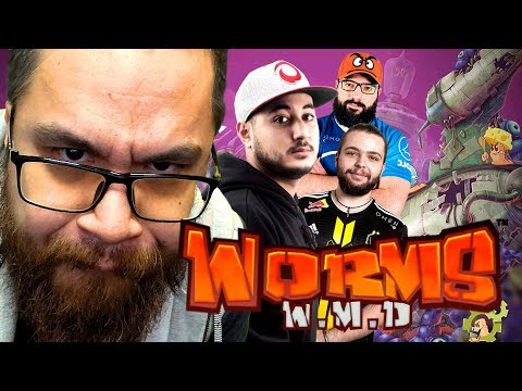 MASTER QUICHES (ft. Gotaga, MoMaN, Robi) | WORMS WMD