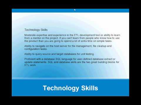 How to become an ETL developer? - YouTube