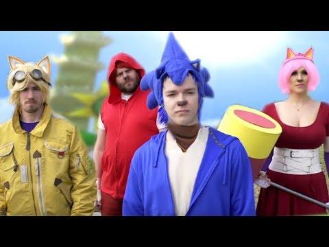 Sonic Boom #SonicBoom | Sonic & Parkour Parody | Screen Team