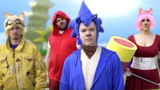 Sonic Boom #SonicBoom | Sonic & Parkour Parody | Screen Team
