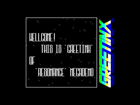 Resonance Megademo - Black Shark  [#zx spectrum AY Music Demo]
