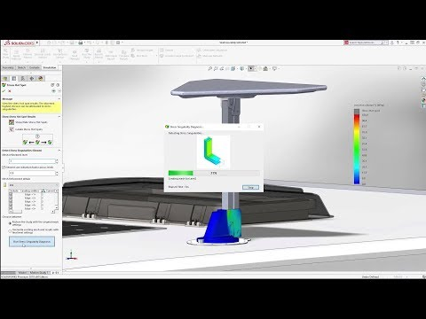 SOLIDWORKS Simulation 2018 – verbesserte Simulation