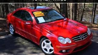 2007 Mercedes-Benz CLK550 5.5L Used Cars - Tucker-Coneyers-Jonesboro,GA