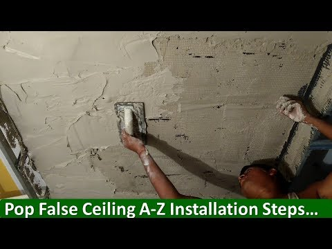 Step-by-Step Pop False Ceiling Installation …