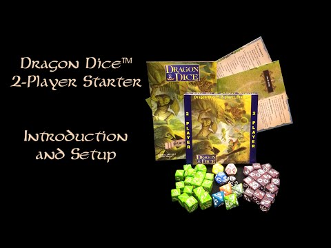 Dragon Dice™ 2-Player Starter - Intro and Setup
