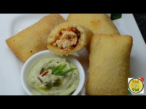 Paneer Pizza Pockets