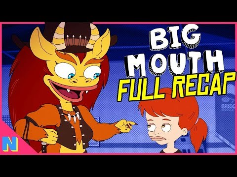 Big Mouth Season 3: Everything You NEED to Know! (Season 1 + 2 Recap & Trailer Breakdown)
