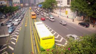 Video : China : Public bus services in GuangZhou 广州