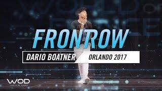 Dario Boatner | FrontRow | World of Dance Orlando 2017 | #WODFL17