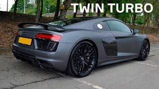 DT_LIVE. 1000+ л.с. Audi R8 Twin Turbo GoshaTurboTech