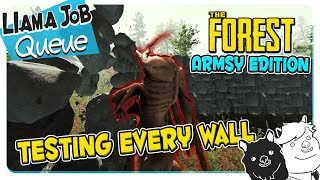 Defensive Wall Durability Test | The Forest