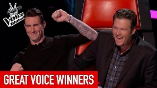 The Voice | GREAT WINNERS from all around the world