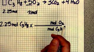 Chemistry - Stoichiometry - Mole Mole Problems