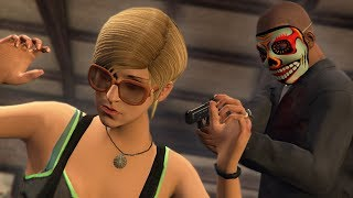 BREAKING INTO PEOPLE'S HOUSES DURING THE PURGE! | GTA 5 Mods