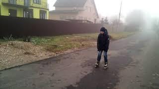 Мой брат Арсений . Появление из тумана. ( начало ноября 2018 )