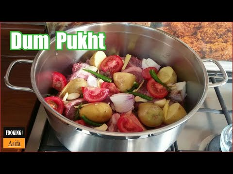 Dum pukht recipe | howto make restaurant Food Street style dam-pokhtak Recipe- ( دم‌ پخت )