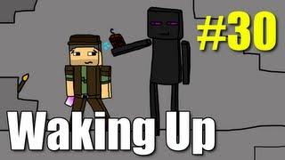 "Minecraft Waking Up E30 ""Shoot the TNT!"" (Vechs Super Hostile)"