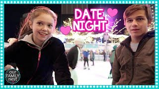 ROMANTIC ICE SKATING DATE NIGHT