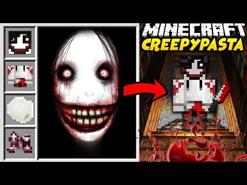 HORROR W MINECRAFT?! || CREEPYPASTA CRAFT MINECRAFT MOD! || JEFF THE KILLER, EYELESS JACK I WIĘCEJ!