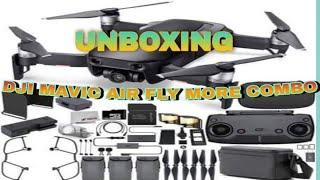 DRONE UNBOXING | DJI MAVIC AIR   FLY MORE COMBO + SHOUTOUT