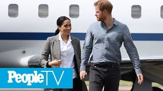 Meghan Markle And Prince Harry Under Fire For Taking Private Jet To France | PeopleTV