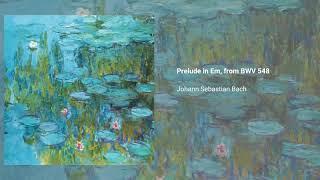 Prelude in E minor, from BWV 548