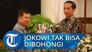 Lima Tahun Bersama, JK Sebut Jokowi Tidak Bisa Dibohongi