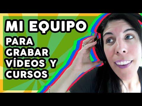 🎬 Mi Equipo para Grabar Cursos y Vídeos para YouTube